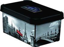 CURVER - Dekoratívny úložný box - S - PARIS