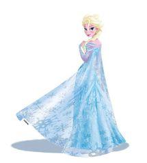 DISNEY - Dekorácia na stenu - Frozen - Elsa