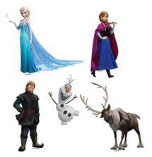 DISNEY - Dekorácia na stenu - Frozen - Sada