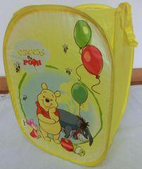 DISNEY - Kôš na hračky - Pooh (štvorec)