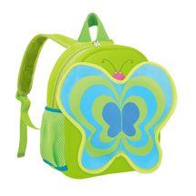 EASY - Batoh neoprenový - detský, motýl zelený