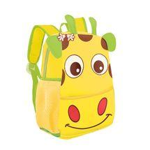 EASY - Batoh neoprenový - detský, žirafa žltý