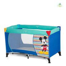HAUCK - Detská postieľka Dream N Play - Mickey Geo Blue 2018