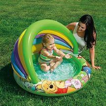 INTEX - baby bazén Macko Pooh so strieškou