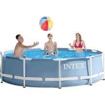 INTEX - bazén Prism Frame 366 x 76 cm s filtračným zariadením 28712