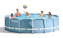 INTEX - bazén Prism Frame 457 x 107 cm s filtračným zariadením 26734