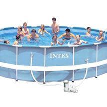 INTEX - bazén Prism Frame 549 x 122 cm s filtračným zariadením 26752