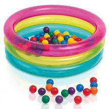 INTEX - Detský nafukovací bazénik na loptičky 48674