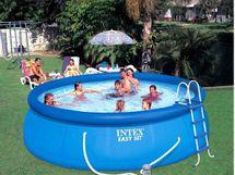 INTEX - nafukovací bazén 457x107 cm s filtračným zariadením 26166