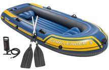 INTEX - nafukovací čln Challenger 3 set