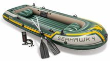 INTEX - nafukovací čln Seahawk 4 set, model 2011