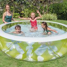 INTEX - Nafukovací kruhový priehladný bazén 57182