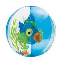 INTEX - nafukovacia lopta akvárium s rybkou - modrá