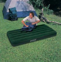 INTEX - nafukovacia posteľ 66967 Twin Prestige Downy s priloženou elektrickou pumpou
