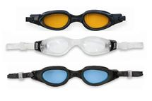 INTEX - plavecké okuliare silikonové Pro Master