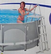 INTEX - Rebrík do bazéna 28073