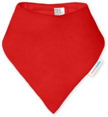 IVEMA BABY - Bavlnená šatka / podbradník - červená