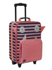 LÄSSIG - detský kufrík, Trolley Little Monsters mad mabel