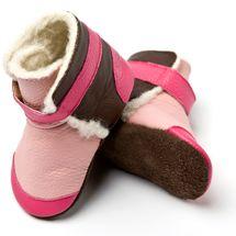 LILIPUTI - Čižmičky Yukon Pink - veľkosť S (6-12 mesiacov)