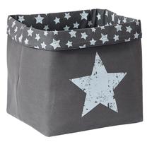 LOVE IT STORE IT - Box na hračky, veľký košík - šedý, Vintage Star