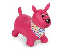 LUDI - Skákací pes, ružový