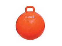 LUDI - Skákacia lopta 55cm oranžová
