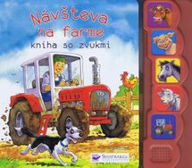Návšteva na farme - kniha so zvukmi