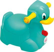 OK BABY - Nočník Quack tyrkysová 72