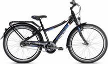 PUKY - detský bicykel CRUSADER 24-3 Alu City light čierny