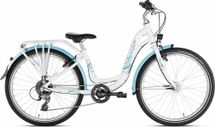 PUKY - detský bicykel SKYRIDE 24-8 Alu light biele