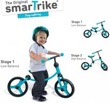 SMART TRIKE - 05 Detské odrážadlo Running Bike 2v1 modré