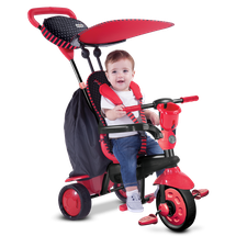 SMART TRIKE - Trojkolka Spark - Black/red