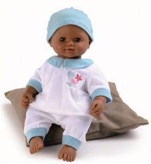 SMOBY - 160179 bábika Baby Nurse etnik v bielych šatôčkach