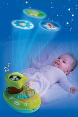 SMOBY - Cotoons 211422 Svetelný projektor k postieľke asort