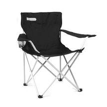 SPOKEY - ANGLER - cestovná stolička čierno - sivá