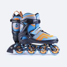 SPOKEY - AVATE Kolieskové korčule tyrkys  ABEC7 Carbon veľkosť .31-34