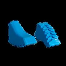 SPOKEY - CALLOUS-Koncovky palíc modré NORDIC-WALKING