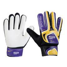 SPOKEY - CATCH II brankárske rukavice žlto-fialové vel. 4