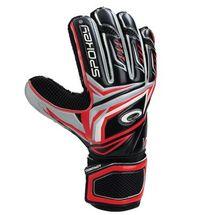SPOKEY - CONTACT Brankárske rukavice červené č. 10