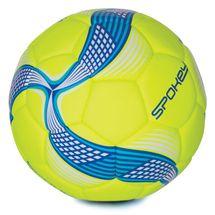 SPOKEY - COSMIC Futbalová lopta limeta-modrá vel.5