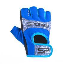 SPOKEY - ELENA II Dámské Fitness rukavice  vel.S modro-tyrkysové
