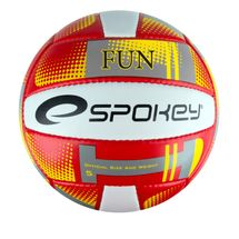 SPOKEY - FUN III Volejbalová lopta červená veľkosť 5