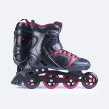 SPOKEY - GARA Kolieskové korčule čierne ABEC5 Carbon veľkosť 46