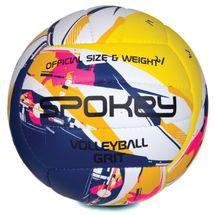 SPOKEY - GRIT Volejbalová lopta modro-žltá č.5