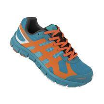 SPOKEY - LIBERATE 5 Bežecké topánky dámské petrol - oranžová vel. 36
