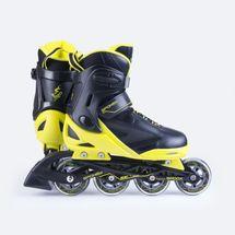 SPOKEY - SPOOX Kolieskové korčule čierna-žlté ABEC7 Carbon veľkosť 36-39