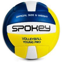 SPOKEY - YOUNG III Volejbalová lopta červeno-žltá vel.4