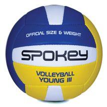 SPOKEY - YOUNG III Volejbalová lopta modro-žltá vel.4