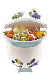 THERMOBABY - Box na hračky do kúpeľne Bubble Fish - zelená