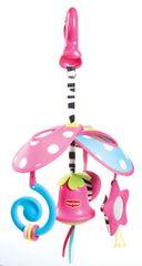 TINY LOVE - Prenosný kolotoč so zvončekom Malá princeznáTiny Princess Pack & Go Mini Mobile